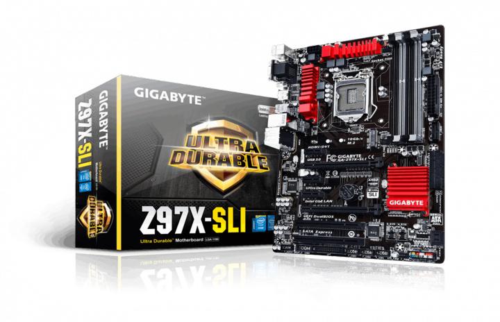 Gigabyte GA-Z97X-SLI Mainboard Sockel 1150 für 66,77€