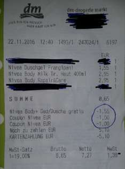 Nivea Lotion/Milk + gratis Duschgel oder Deo