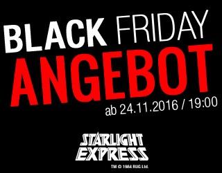 """STARLIGHT EXPRESS startet erstmalig """"BLACK FRIDAY""""-Angebot Tickets ab 40€"""