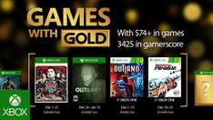 Games with Gold Xbox One/360 Dezember 2016