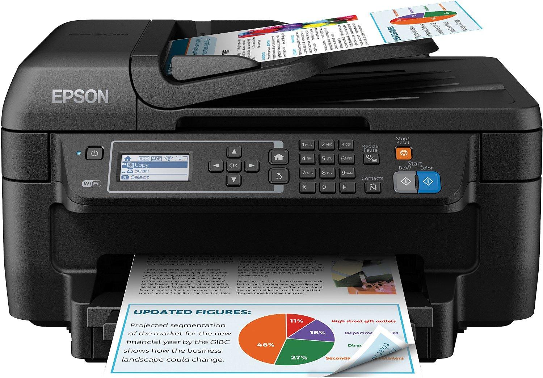 [amazon.co.uk] 4-in-1 Multifunktionsdrucker Epson WorkForce WF-2750DWF für 65,46€