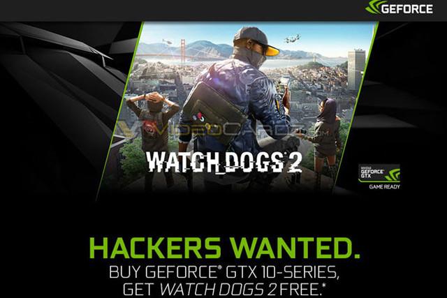 (PC) Watch Dogs 2 Gratis beim kauf einer Nvidia Geforce GTX 1070 oder 1080