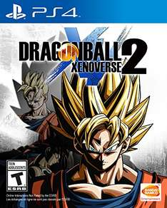 (Amazon.com) Dragon Ball: Xenoverse 2 (PS4/Xbox One) für 40€