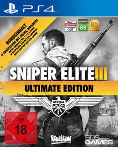 (PS4) Sniper Elite 3 Ultimate Edition (PSN CA)