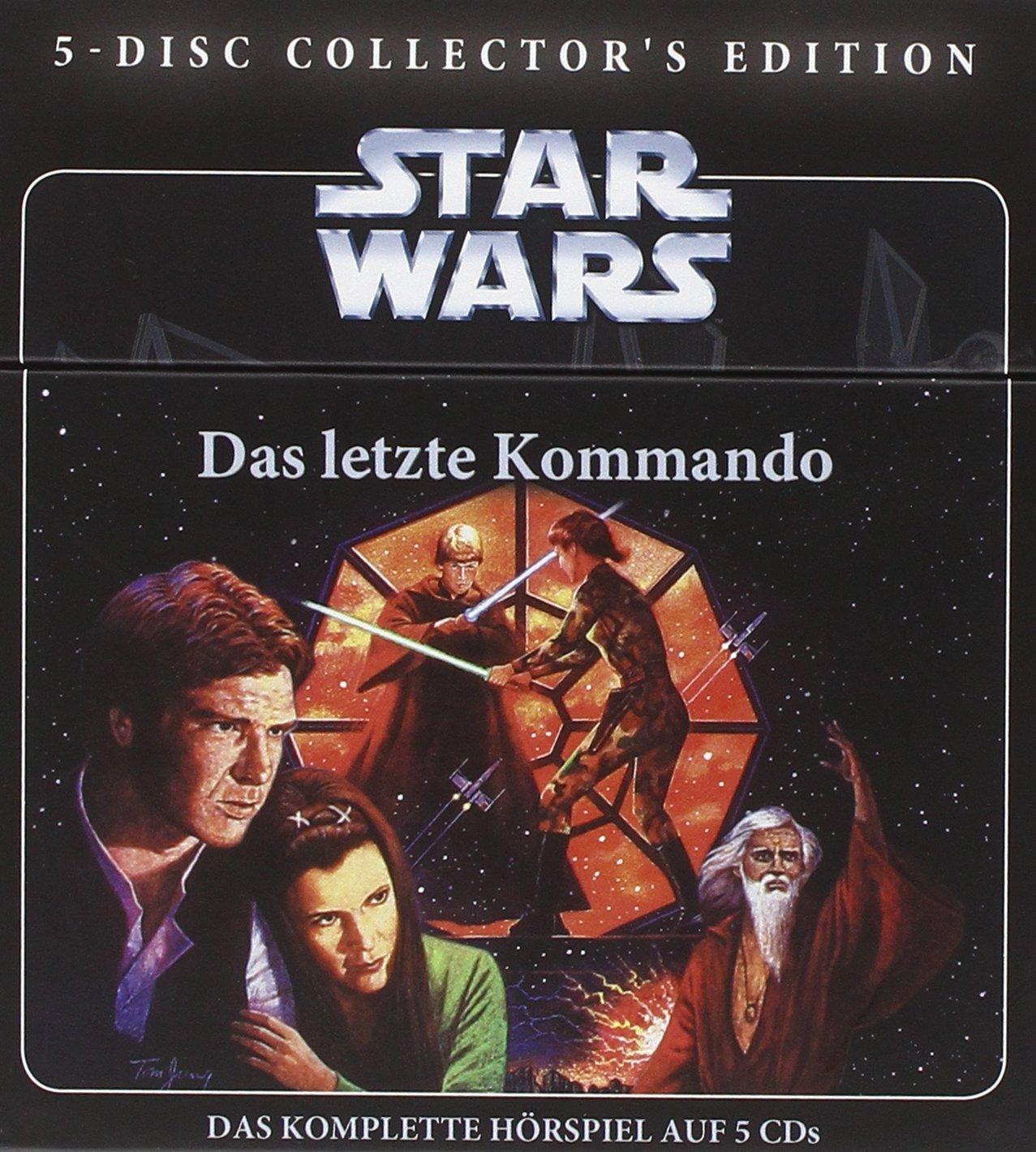 """Star Wars Hörspiel Box """"Das letzte Kommando"""" 5 CDs"""