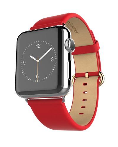 Hoco Apple Watch 42 mm Armband Lederarmband für nur 4,90€