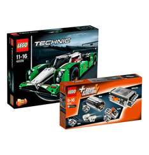 [Galeria Kaufhof] LEGO Technic Bundle Langstrecken-Rennwagen 42039 & Power Function 8293 für 84,99€