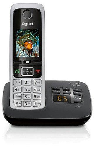 [Amazon WHD] Gigaset C430A Schnurlostelefon ab 35,28€ (4,6cm (1,8 Zoll) TFT-Farbdisplay, Freisprecheinrichtung, Anrufbeantworter) schwarz