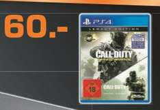 [Lokal Saturn Schweinfurt NUR am 2511 und 26.11-] Call of Duty: In­fi­ni­te War­fa­re Legacy Edi­ti­on [PS4] für 48,-€ (Durch 20% Aktion)