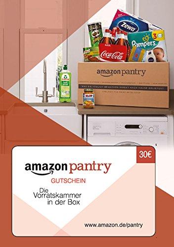 [AMAZON] Pantry Gutschein ist wieder da 30€ für 20€ macht 33,3% Ersparnis VSK frei ab 29€ Beispiel Spee Waschmittel für 0,07€ pro Waschladung