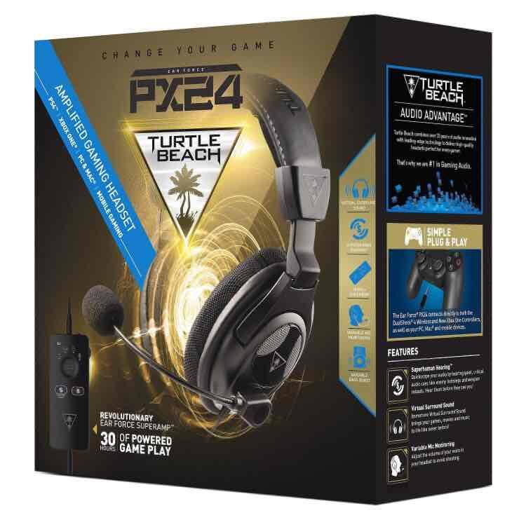 Turtle Beach PX24 Headset (Leverkusen) für PS4/XBOXone/PC