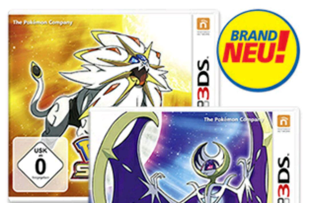 Pokemon Sonne 3DS [Versandkostenfrei] (Real.de)