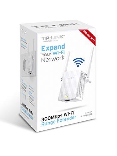 """TP-Link TL-WA855RE WLAN Repeater (300 Mbit/s, LAN Port, Tether App, Zeitplan, 802.11b/g/n, Signalstärkeanzeige) für 17,50€ statt 26,05€ / WHD """"wie neu"""" 13,44€"""
