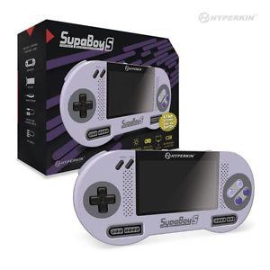SupaBoy S / Portable SNES Handheld Konsole (PAL + NTSC) Release Datum 14.12.