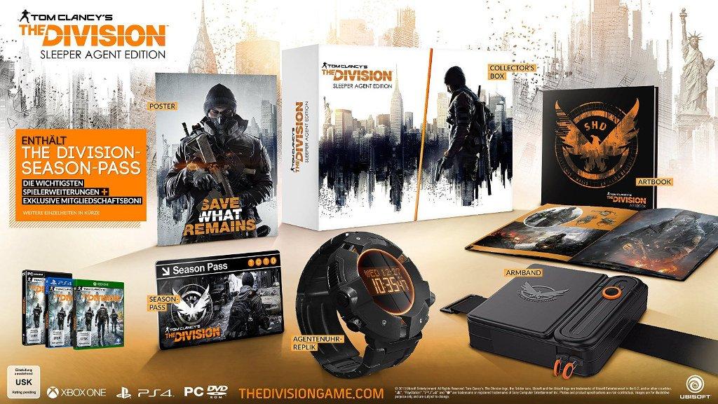Ubisoft / @BF2016 Angebote z.b. Division Tom Clancy's The Division - Sleeper Agent Edition / 51,99 mit 20% Gutschein für PS4 und Xbox one