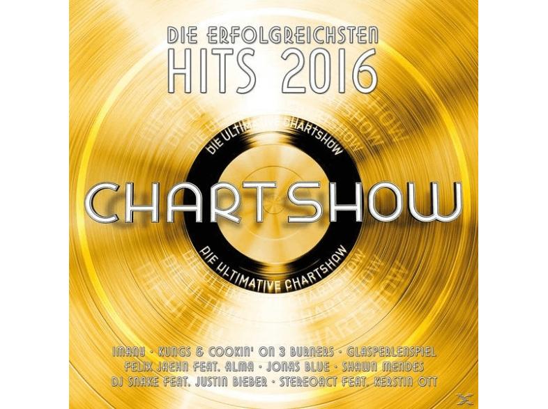 Die Ultimative Chartshow-Hits 2016 - (CD) für 15,99€ @BF2016 bei Saturn