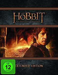 Amazon Blitzangebot  Der Hobbit Trilogie - Extended Edition [Blu-ray] für 36,97€