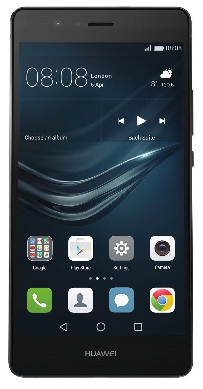 """[Amazon Händler] Huawei P9 lite schwarz EU [13,2cm (5,2"""") FHD Display, 2.0GHz OctaCore-CPU, 13MP Kamera, Dual-SIM] weiß/schwarz"""