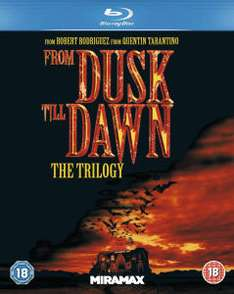 (Zavvi) From Dusk Till Dawn 1-3 (Blu-ray) (OT) für 8,41€
