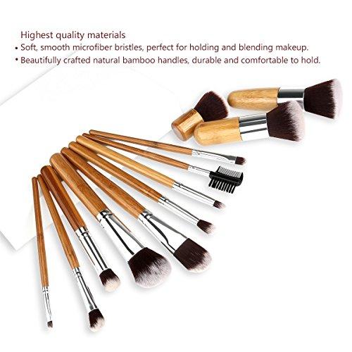 Make up Pinsel Set mit Bambusgriff für 7,99€ inkl. Versand Amazon Prime