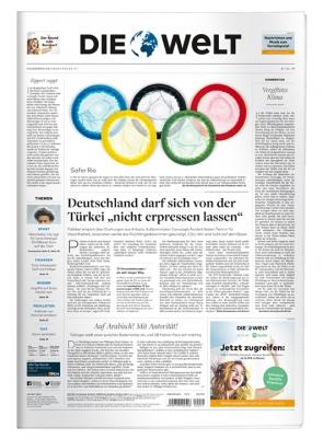 102x Tageszeitung Die Welt (Mo-Sa) für effektiv 8,86€ durch 150€ Bestchoice Universalgutschein bei 158,86€ Abokosten