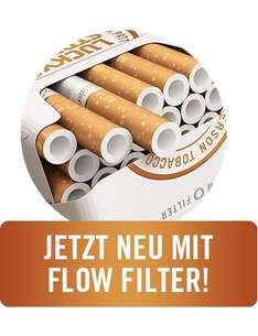 Verschenke 100 Gratis Codes für 100 Packungen Lucky Strike Flow Filter