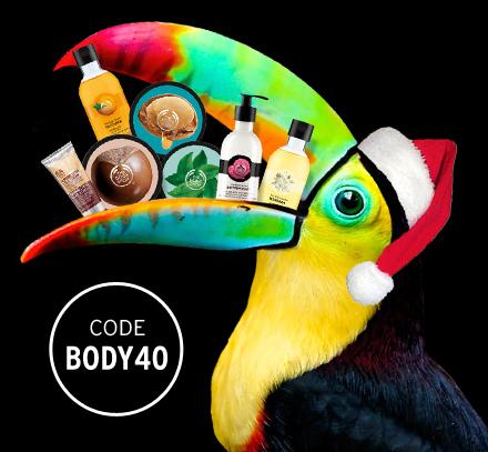 40% Rabatt auf Körperpflege-Bestseller bei The Body Shop @Black Friday