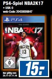 [LOKAL Expert Dormagen/Neuss] NBA 2K17 PS4