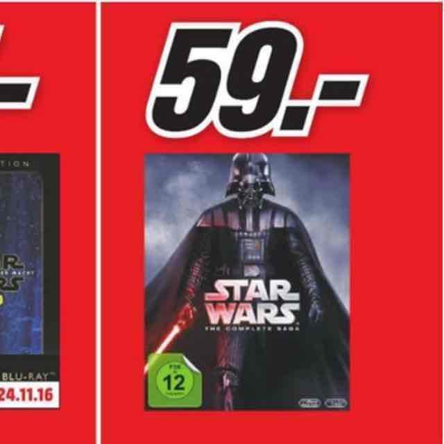 Star Wars 1-6 bei Mediamarkt in Mülheim a.d. Ruhr