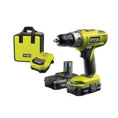 [Amazon.uk] Ryobi ONE+ Cordless Combi Drill with 2 x 1.3A Batteries and 45 Minute Charger, 18V by Ryobi