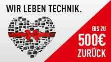 Panasonic Cash Back Aktion - viele Artikel - bis zu 500€ Cash Back