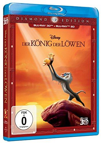 Der König Löwen 3D Bluray + 2D Bluray + DVD Diamond Edition Amazon Blitzangebot