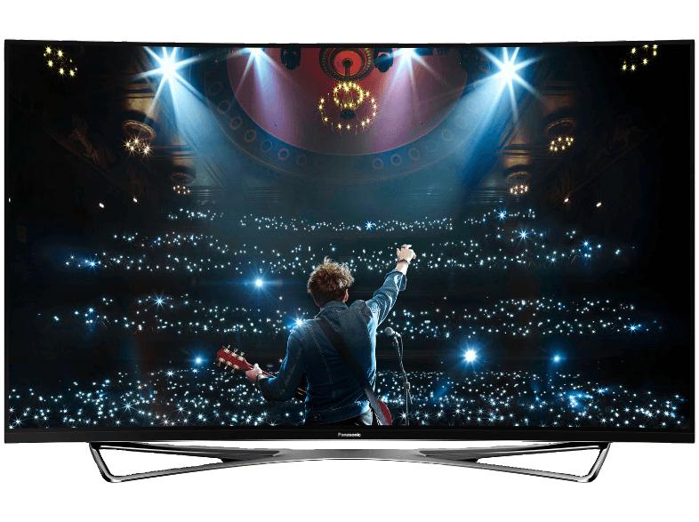 PANASONIC TX-65CZW954 OLED TV für 6899,- anstatt von 9699,- (Curved, 65 Zoll, UHD 4K, 3D, SMART TV) (MediaMarkt Nordhorn) Bundesweiter Versand möglich