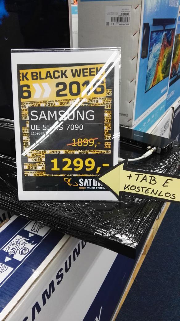 Samsung 55KS7090 inkl. TAB E