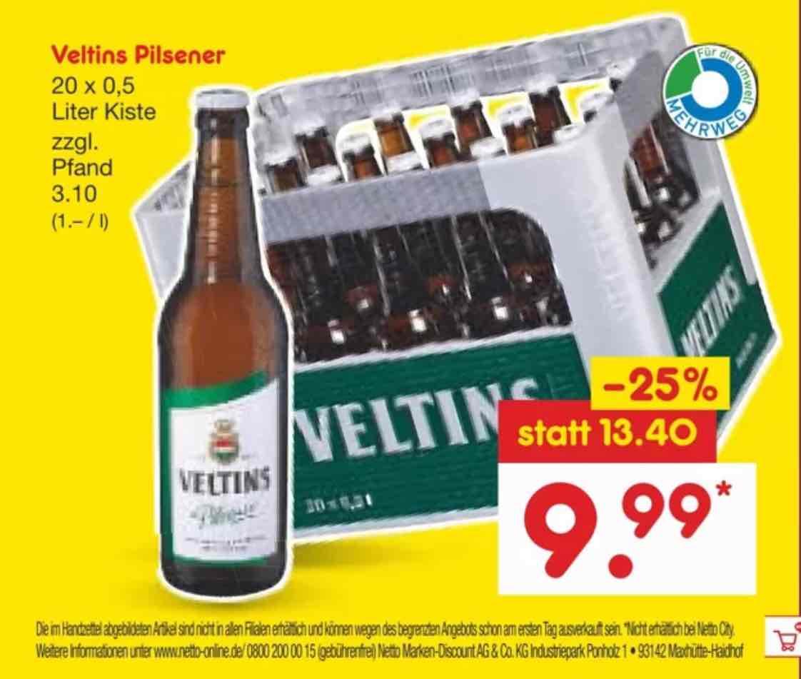 Veltins Pilsener NETTO / Hannover