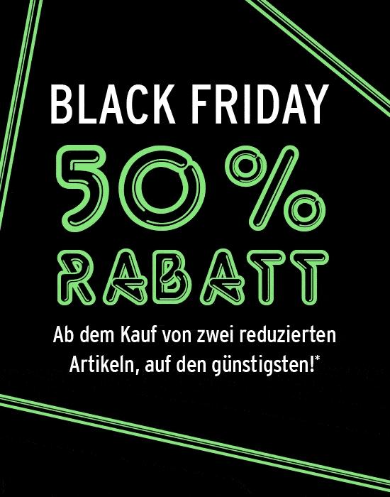 Black Friday bei ANSON'S 50% Rabatt ab 2 reduzierten Artikel auf den günstigsten.