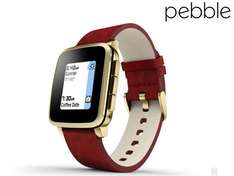 [@ibood] Pebble Time Steel Smartwatch für iOS & Android