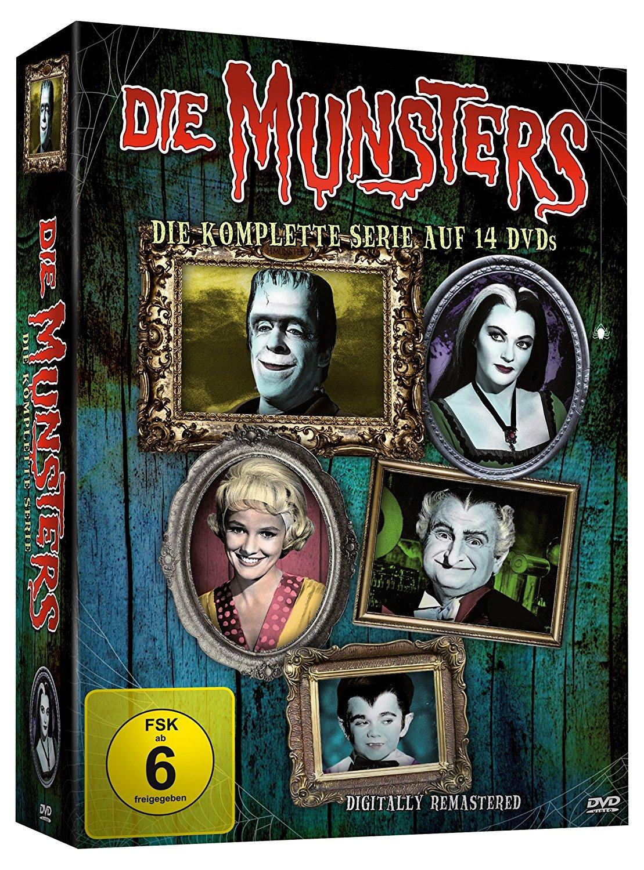 KULTALARM:     Die Munsters - Die komplette Serie [14 DVDs]  -> Addams Family