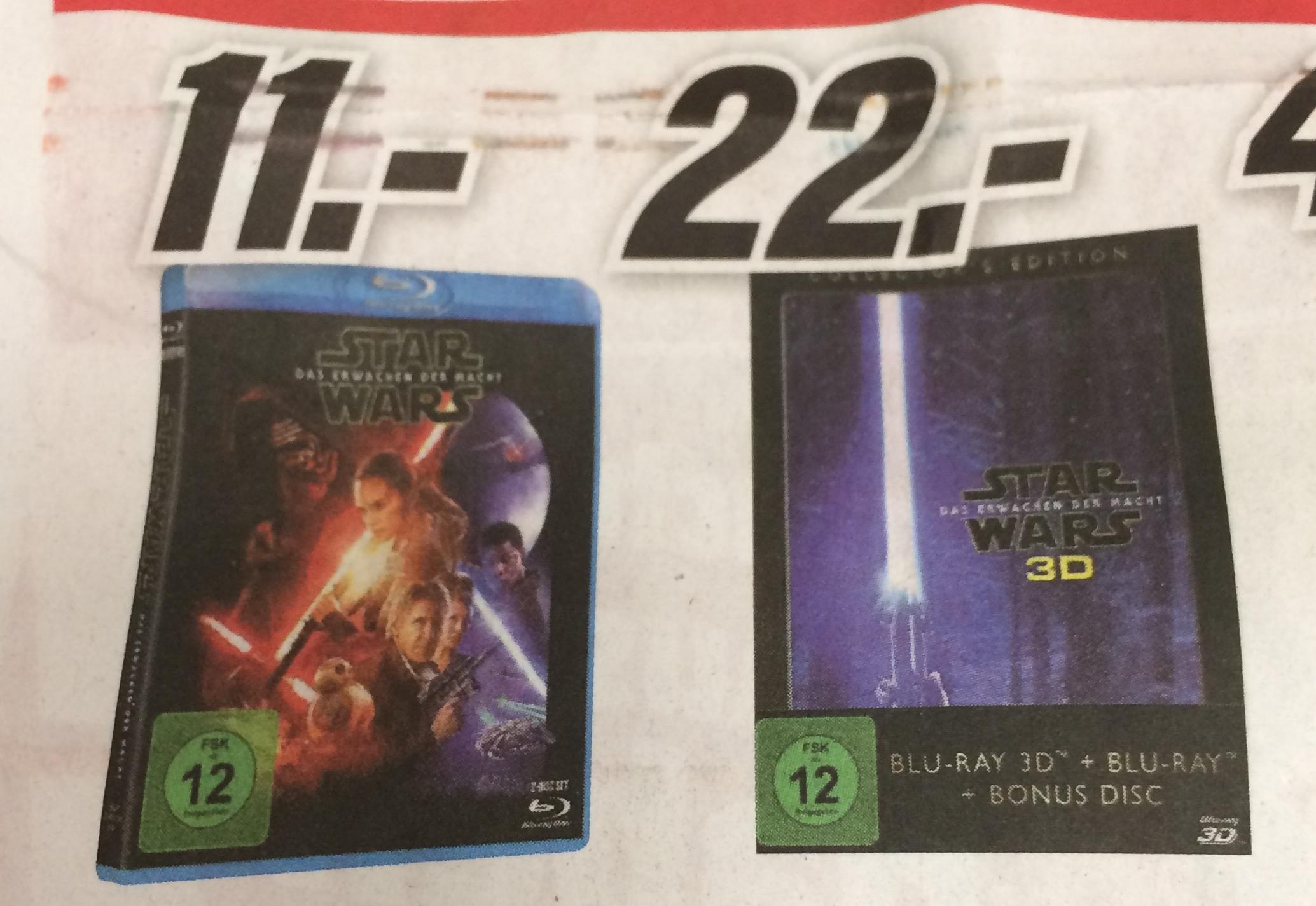 Star Wars - Das Erwachen der Macht [3D-Blu-ray] lokal Media Markt Porta Westfalica