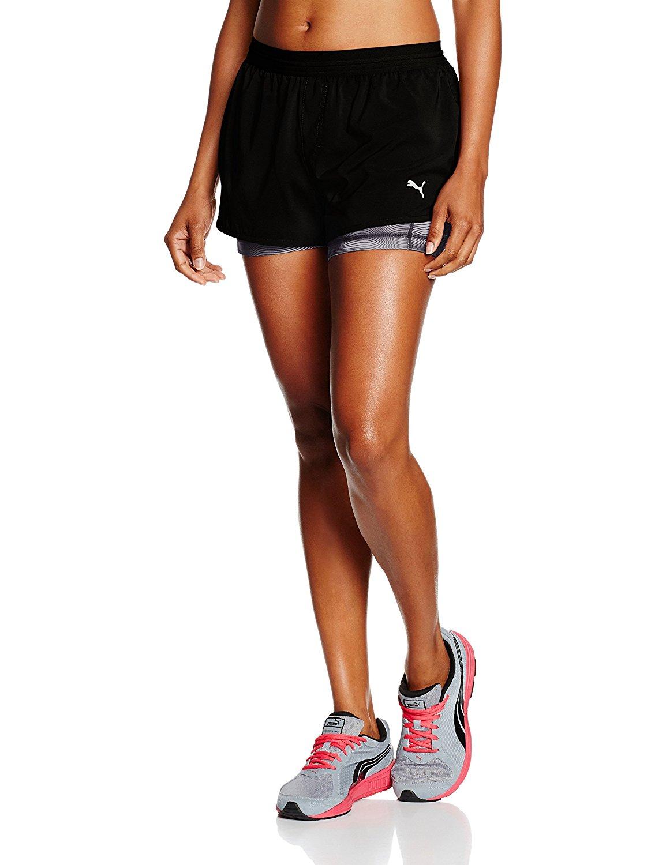 Puma Damen Blast 2-In-1 Shorts W Hose Gr. L und XL ab 8,20€