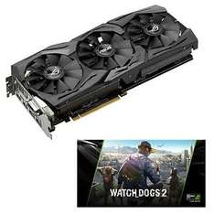 "ASUS ROG Strix GeForce GTX 1080 Advanced + ""Watch Dogs 2"" für 629€ // für 566,10€ ab 12 Uhr [Ebay Alternate]"