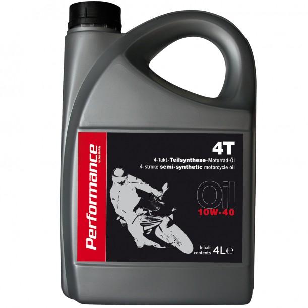 Hein Gericke - Motoröl teilsynthetisch, 10W 40, 4 Liter