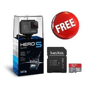 Gopro Hero 5 Black für 347,39€ inkl. 32GB Speicherkarte