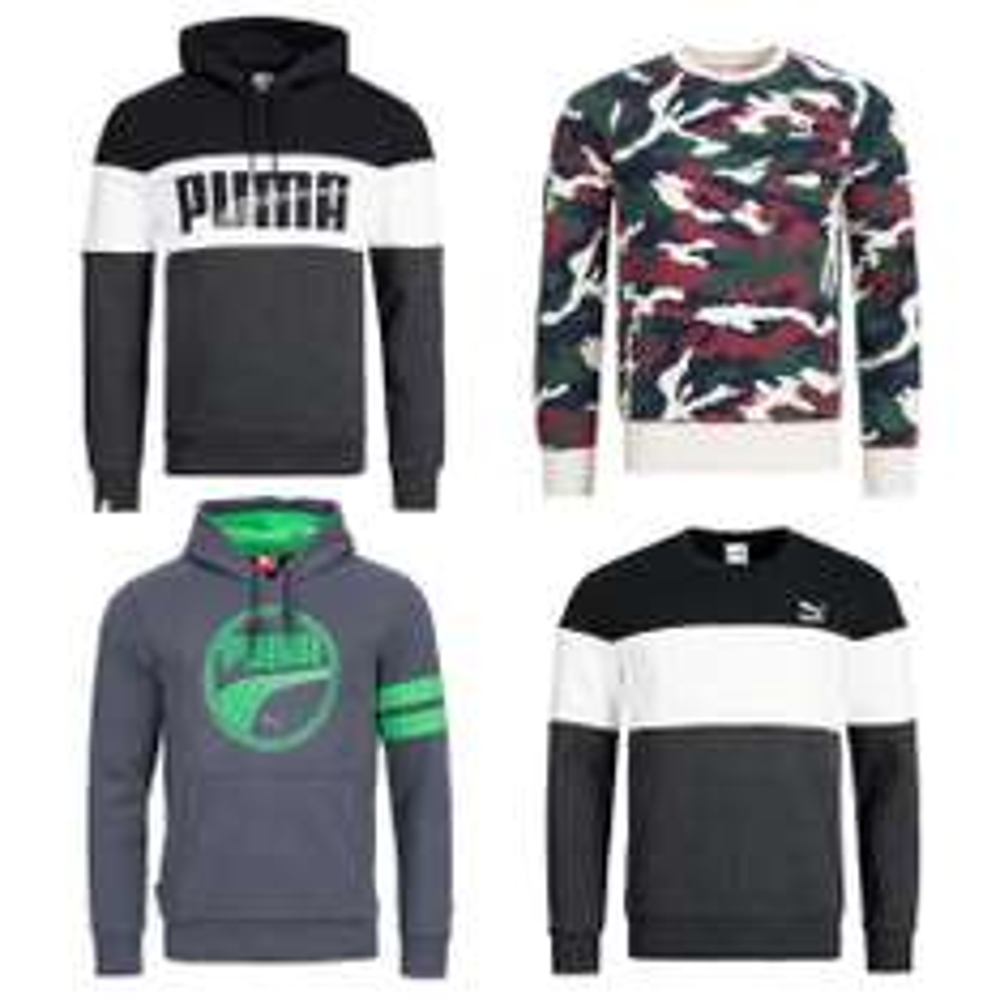 PUMA Pullover Mit/Ohne Kapuze für 25,99€ XS-XL EBAY-WOW
