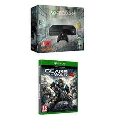 Xbox One 1TB + Tom Clancy's The Division + Gears of War 4 für 205,41€ (Amazon.es)