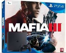 ebay - Sony PlayStation 4 Slim Konsole 1TB inkl. Mafia 3 Bundle für 265€