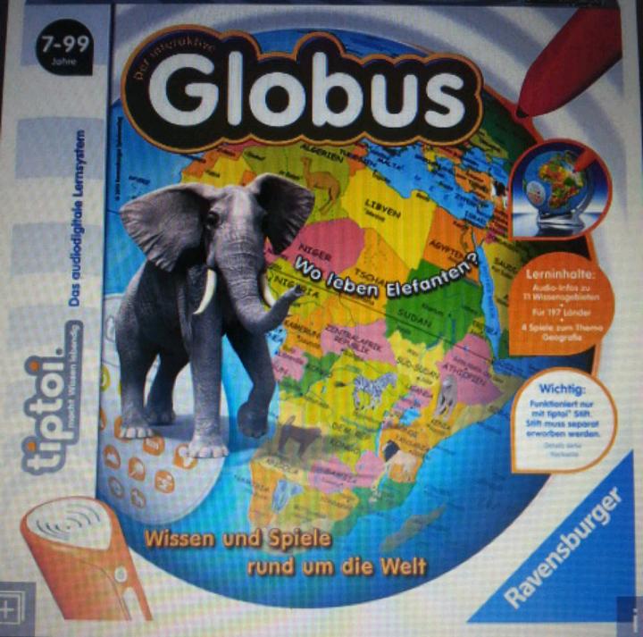 tiptoi Globus - Lokal ROFU Kinderland in Wiesbaden