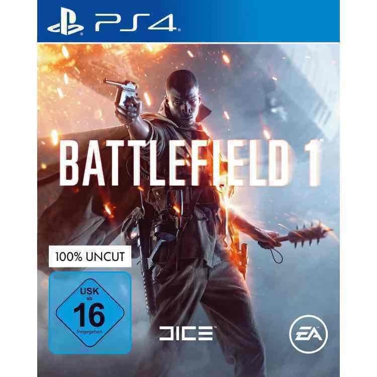 battlefield 1 für PS4/ Xbox One für 41,59€ Oder Abholung Mediamarkt 39,60€ Nur HEUTE BIS 20 Uhr