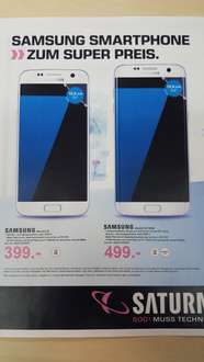 Cyber Monday Saturn Deutschland Samsung S7 & S7 EDGE