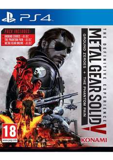 [simplygames] Metal Gear Solid 5: The Definitive Experience PS4 und Xbox One für 18,09€ inkl. Versand